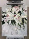 周海波日志-北欧重彩花卉油画作品欣赏,周海波近期油画作品。【图2】