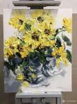 周海波日志-北欧重彩花卉油画作品欣赏,周海波近期油画作品。【图3】