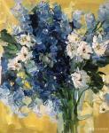 周海波日志-北欧重彩花卉油画作品欣赏,周海波近期油画作品。【图4】
