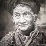尚建国藏宝-素心无尘,正在西安美术馆的王西京画展《无界》,很值的一看,不【图4】