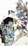 甘庆琼日志-甘庆琼庚子年冬月国画写意花鸟画新作《田园趣》《村头》《远瞻》【图2】