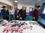 刘建国生活-长春市朝阳区文联举行迎新年笔会,共同创作国画作品《盛世放歌》【图3】