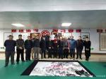 刘建国生活-长春市朝阳区文联举行迎新年笔会,共同创作国画作品《盛世放歌》【图5】