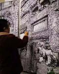 马培童日志-单县百寿坊、百狮坊 百寿坊--座落在山东省菏泽市单县城内胜【图4】