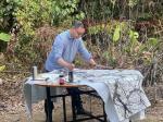 石广生生活-经过七八天的野外集训式写生,每个人都带着一身淡淡的梅花花香和【图4】