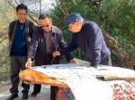石广生生活-经过七八天的野外集训式写生,每个人都带着一身淡淡的梅花花香和【图5】