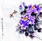 李万勤日志-国画花鸟画牡丹作品5幅《唯有牡丹真国色》《国色天香》《吉祥如【图1】