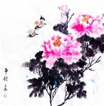 李万勤日志-国画花鸟画牡丹作品5幅《唯有牡丹真国色》《国色天香》《吉祥如【图4】