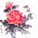 李万勤日志-国画花鸟画牡丹作品5幅《唯有牡丹真国色》《国色天香》《吉祥如【图5】