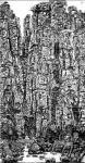 """马培童日志-以写论道(82)马培童焦墨画感悟笔记;   """"写""""是一个文【图1】"""
