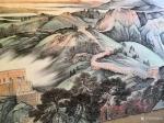 任振山日志-国画山水画长城《中华魂》,任振山辛丑年夏月作品,尺寸丈二横幅【图4】