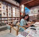 刘晓宁日志-香香《自由自在》画展,现场画画是一种享受,也是和人沟通最好的【图1】