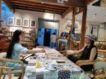 刘晓宁日志-香香《自由自在》画展,现场画画是一种享受,也是和人沟通最好的【图2】