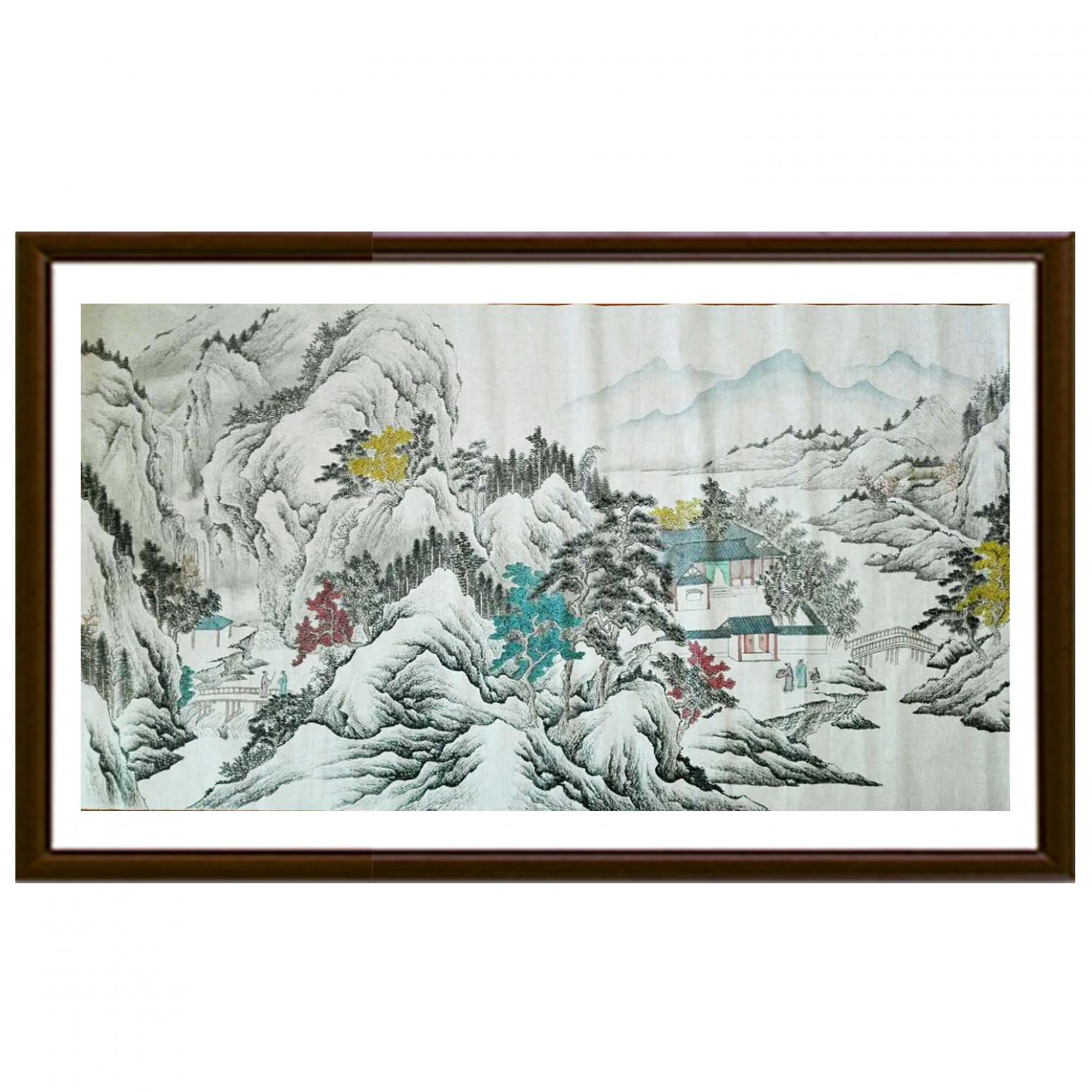 陈奇培国画作品《【拜访】作者陈奇培 临摹》【图2】