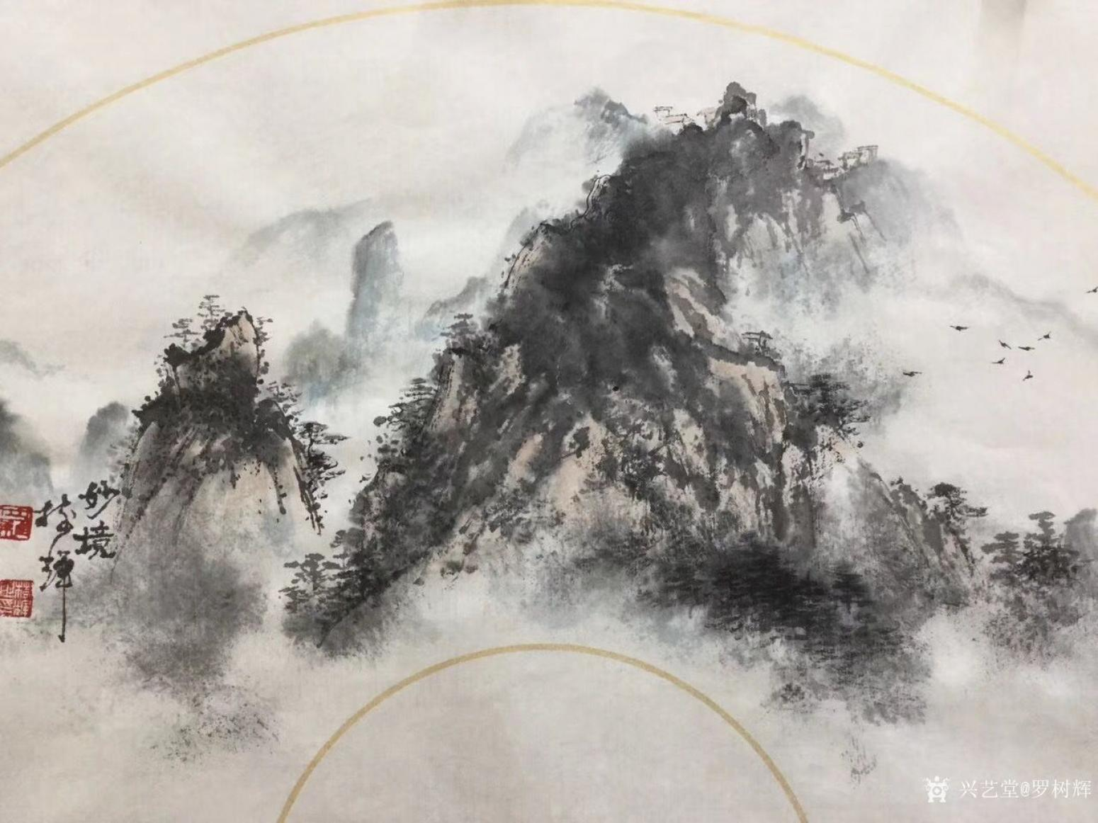 罗树辉国画作品《妙境》【图1】