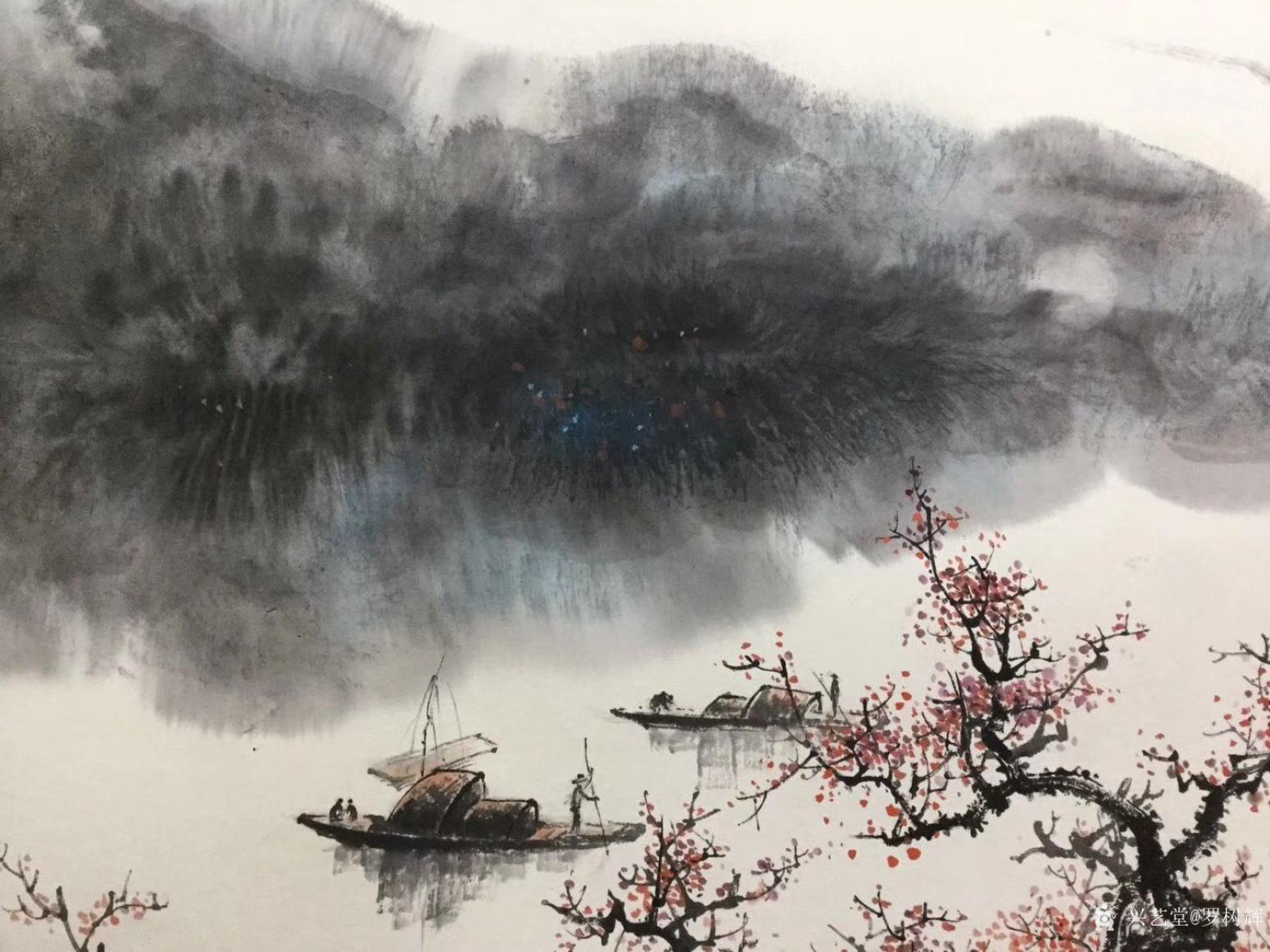 罗树辉国画作品《禅妙》【图2】
