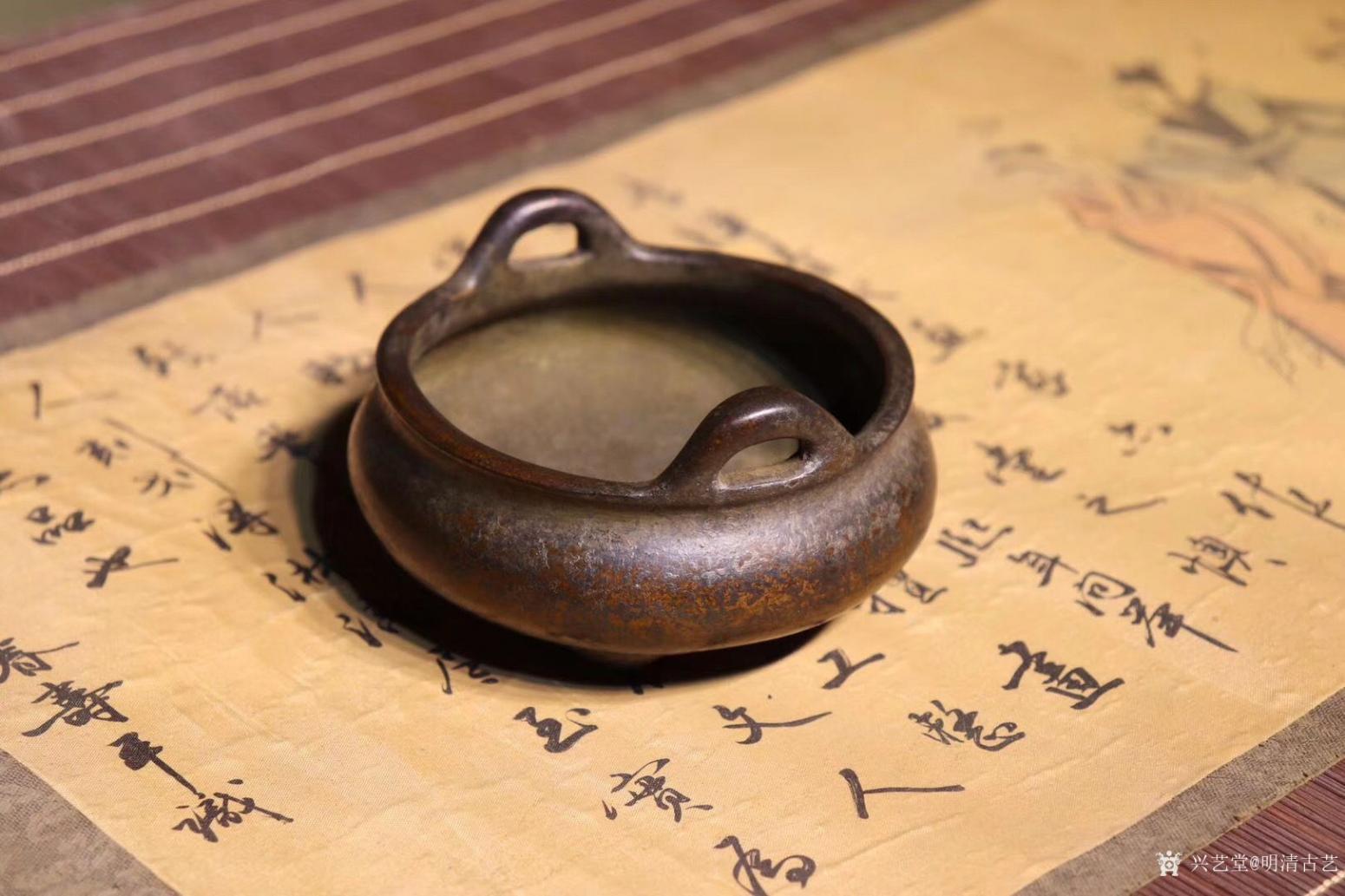 明清古艺文玩杂项作品《崇祯香炉》【图0】