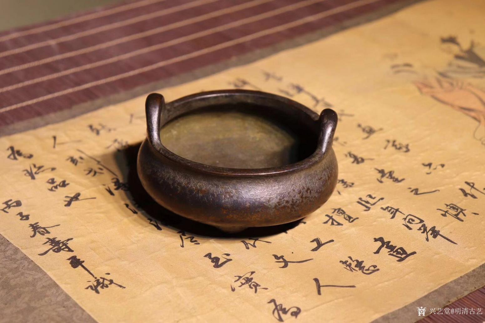 明清古艺文玩杂项作品《崇祯香炉》【图2】