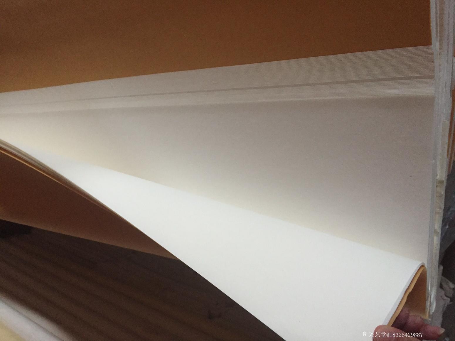 18326429887手工作品《八尺檀皮宣》【图3】