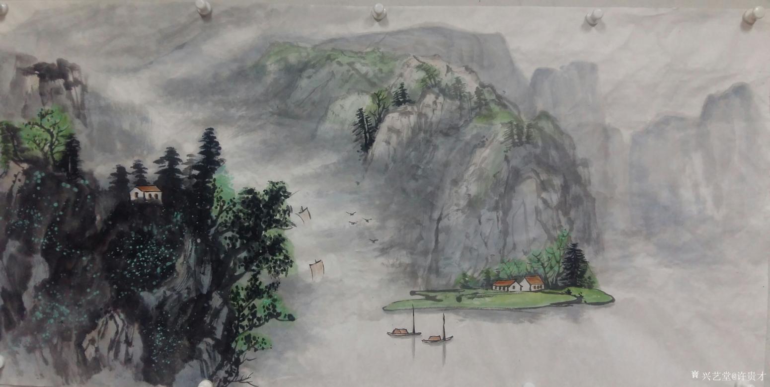 许贵才国画作品《我的近期作品》【图2】