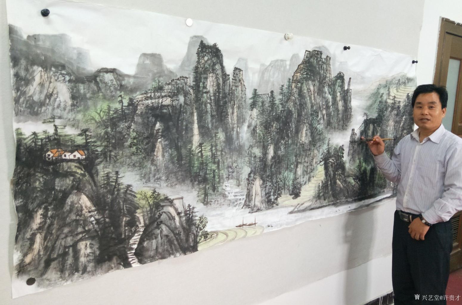 许贵才国画作品《我的近期作品》【图5】