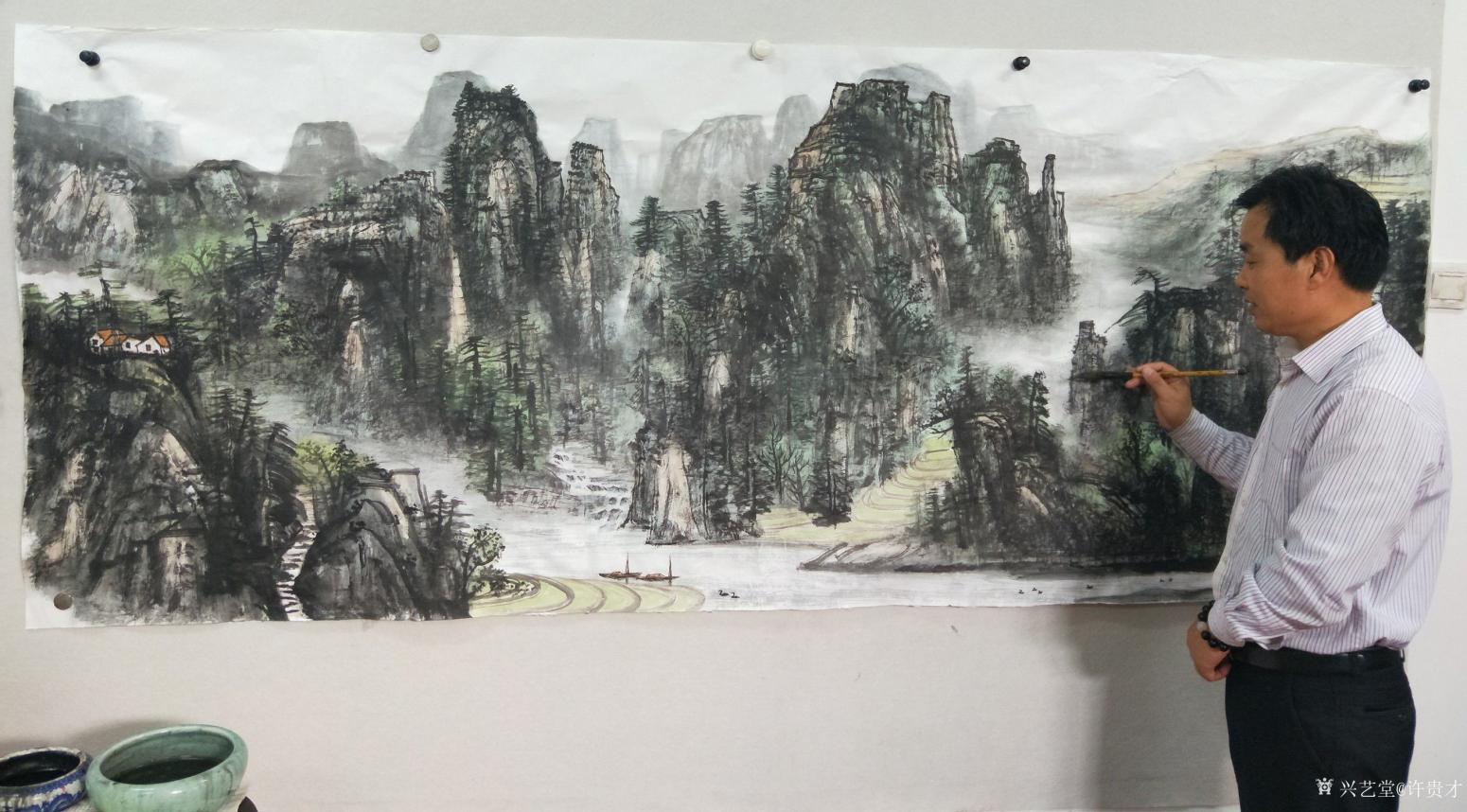 许贵才国画作品《我的近期作品》【图7】
