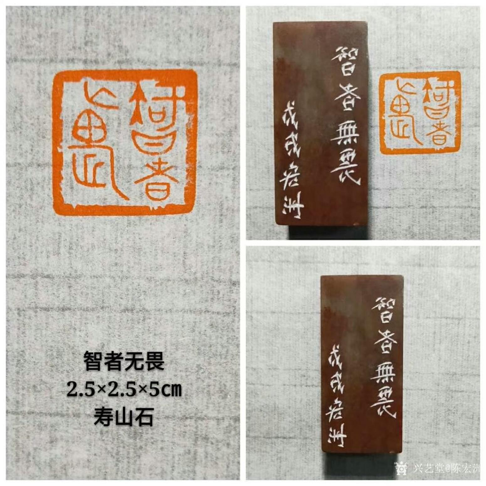 陈宏洲雕刻作品《智者无畏》【图0】