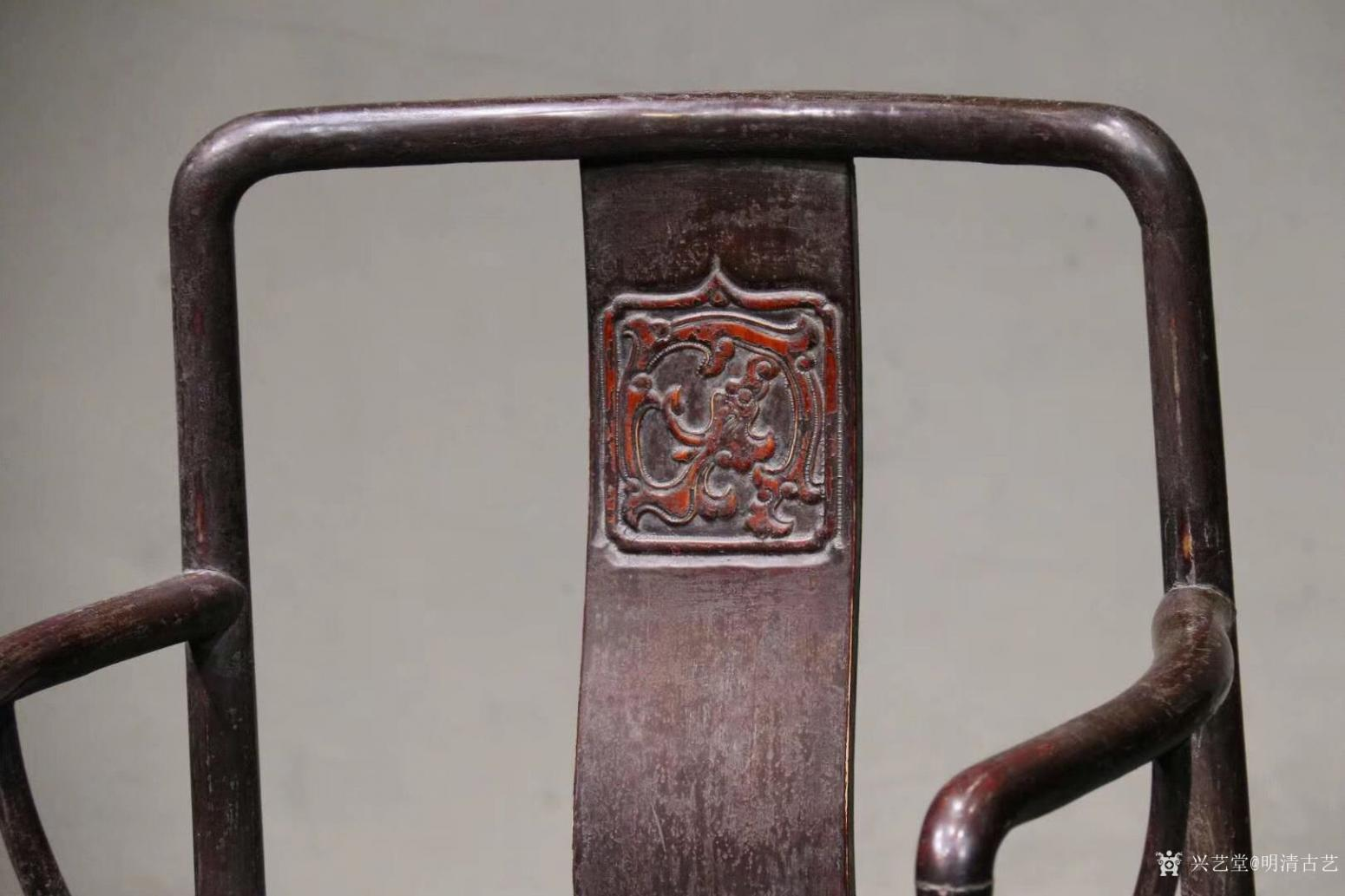明清古艺文玩杂项作品《收藏品:明式楠木椅》【图0】