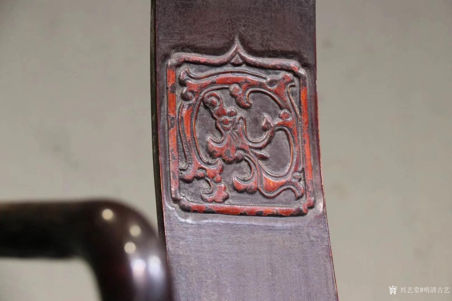 明清古艺文玩杂项作品《收藏品:明式楠木椅》【图2】