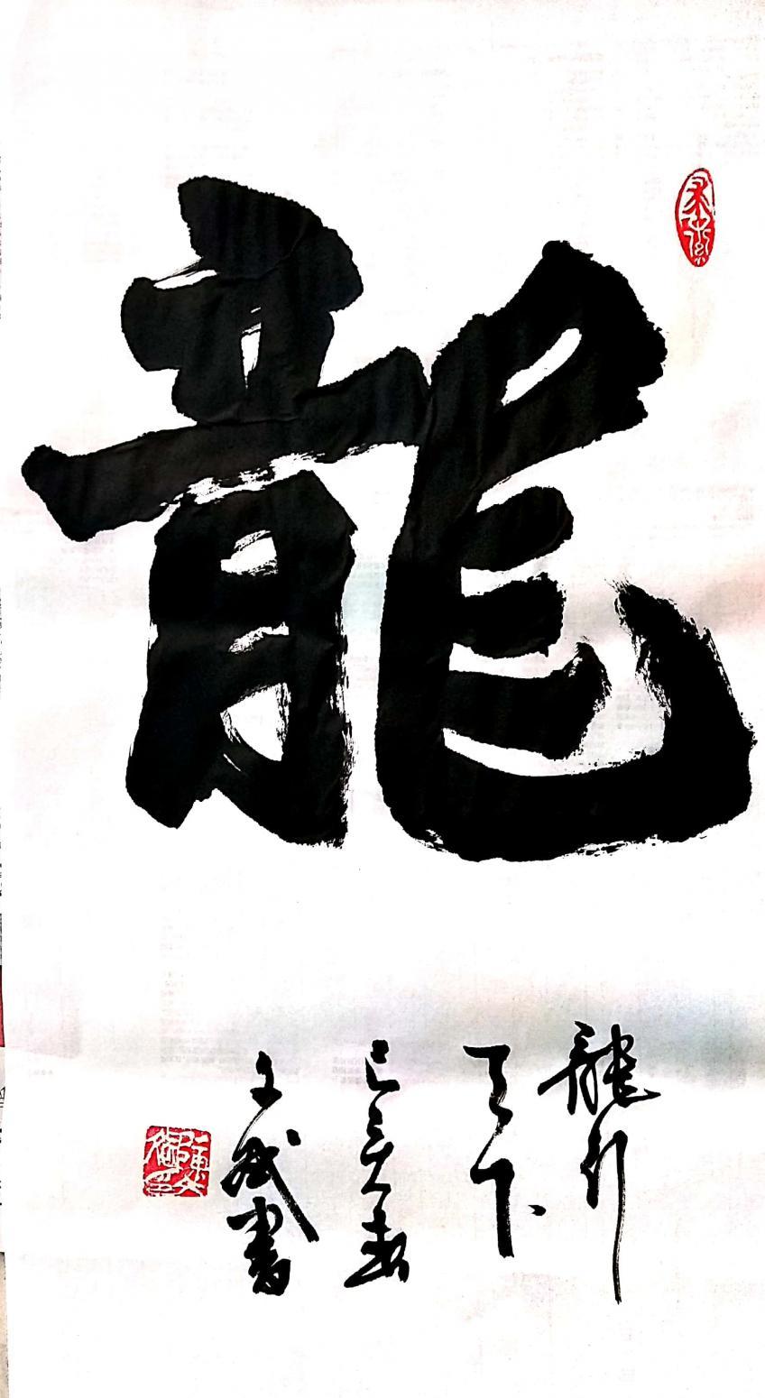 陈文斌书法作品《龙》