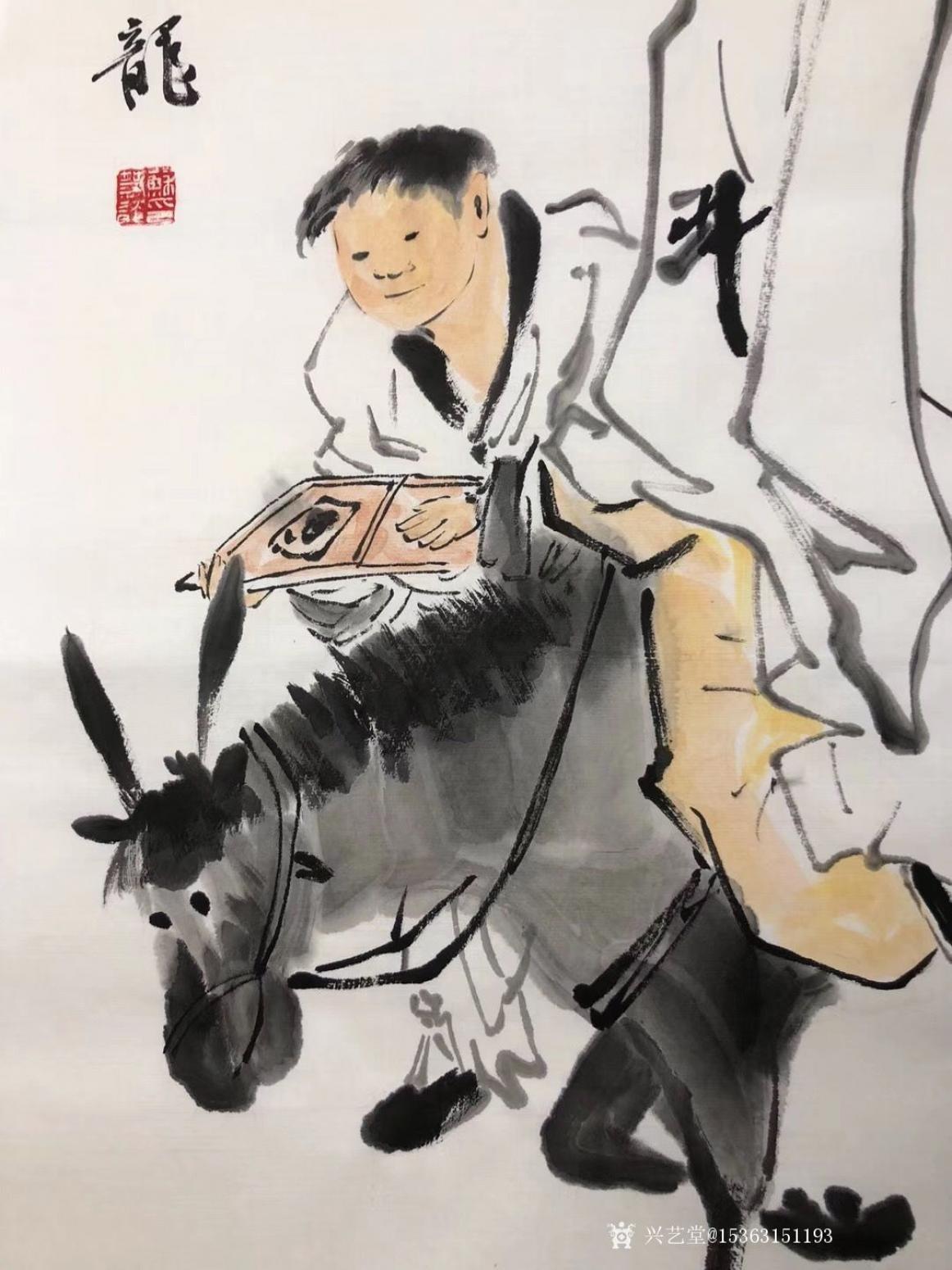 15363151193国画作品《李太白醉酒图》【图2】
