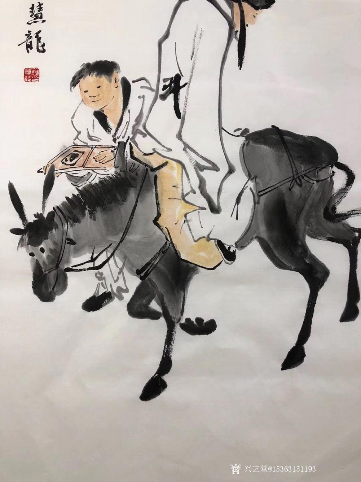 15363151193国画作品《李太白醉酒图》【图3】