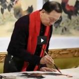 王世军画鸡创作视频