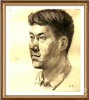 艺术家叶向阳日记:人物头像素描作品《我的战友》《保家卫国守边疆》;   第一【图0】