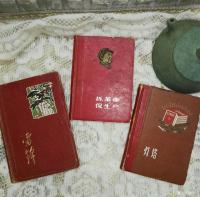 艺术家荆古轩收藏:五、六、七十年代的日记。我的红色收藏之四。日记是一个人的心灵【图2】