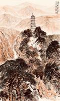 """艺术家叶仲桥日记:国画《延安精神永放光芒》入选""""我和我的祖国——庆祝中华人民共【图2】"""