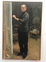 艺术家石广生收藏:陈丹青《退步》画展,看后略有感慨。   如同不少画界老师一【图2】