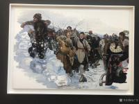 艺术家石广生收藏:陈丹青《退步》画展,看后略有感慨。   如同不少画界老师一【图4】