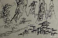 艺术家荆古轩日记:荆门书画——尹峰1988年到湖南张家界写生画稿。近日我在整理【图2】