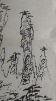 艺术家荆古轩日记:荆门书画——尹峰1988年到湖南张家界写生画稿。近日我在整理【图3】