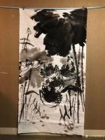 艺术家周鹏飞日记:国画写意花鸟画《世代和谐图》!夜战结束,登床,眠梦!   【图1】