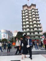 艺术家夏沁日记:今天前往郑州特别参观了二七纪念塔,作为纪念京汉铁路工人大罢工【图0】