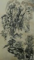 艺术家荆古轩日记:午间毛边纸水墨写意小品【图0】