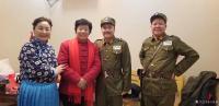艺术家马培童生活:1月19日在沛县红色文化公益联盟活动,有缘相见,沛县剧团的老【图1】