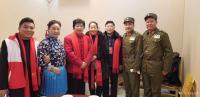 艺术家马培童生活:1月19日在沛县红色文化公益联盟活动,有缘相见,沛县剧团的老【图2】