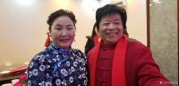 艺术家马培童生活:1月19日在沛县红色文化公益联盟活动,有缘相见,沛县剧团的老【图4】