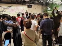 艺术家阎敏生活:1月11日上午《那些花儿》深圳20人画展在宝安体育馆茶悦世界【图1】