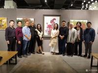 艺术家阎敏生活:1月11日上午《那些花儿》深圳20人画展在宝安体育馆茶悦世界【图4】