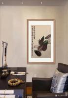 艺术家石广生日记:国画花鸟画蔬菜茄子《大红大紫几风光》; 菜市场就是我的学堂【图4】