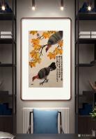 艺术家石广生日记:国画花鸟画《岂只凤凰占高枝》   深山避疫,多见山鸡,时人【图5】